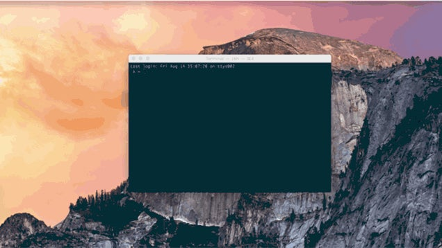 Termtile Moves OS X Terminal Windows Around with Simple Commands