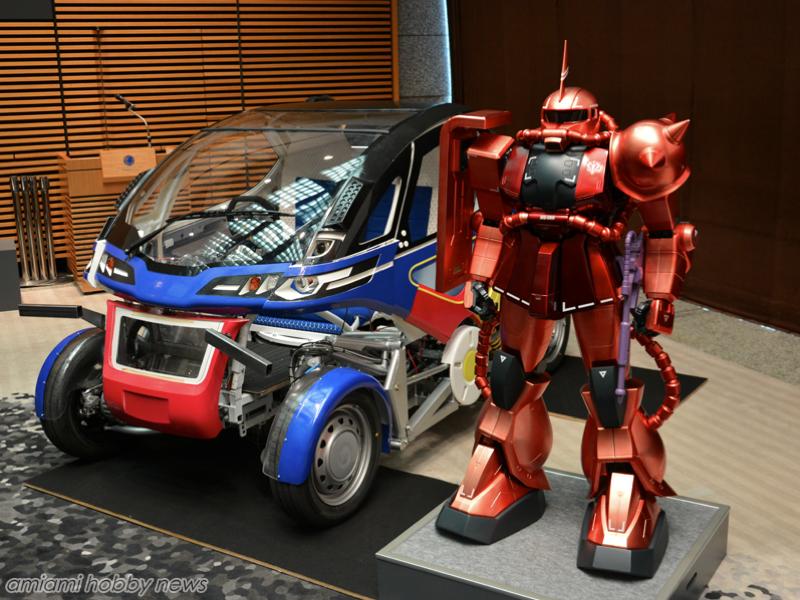 Gundam Designer Creates a Mecha Inspired Car
