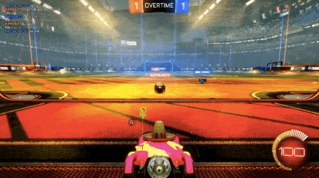 Car Shuffleboard Is The Goofiest New Way To Play Rocket League