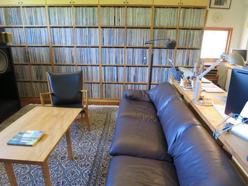 The Music- and Souvenir-Filled Workspace of Author Haruki Murakami