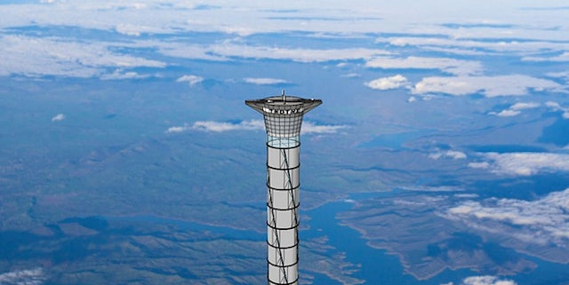 The Unlikely Quest to Build a Tower Tall Enough to Take Astronauts to Space