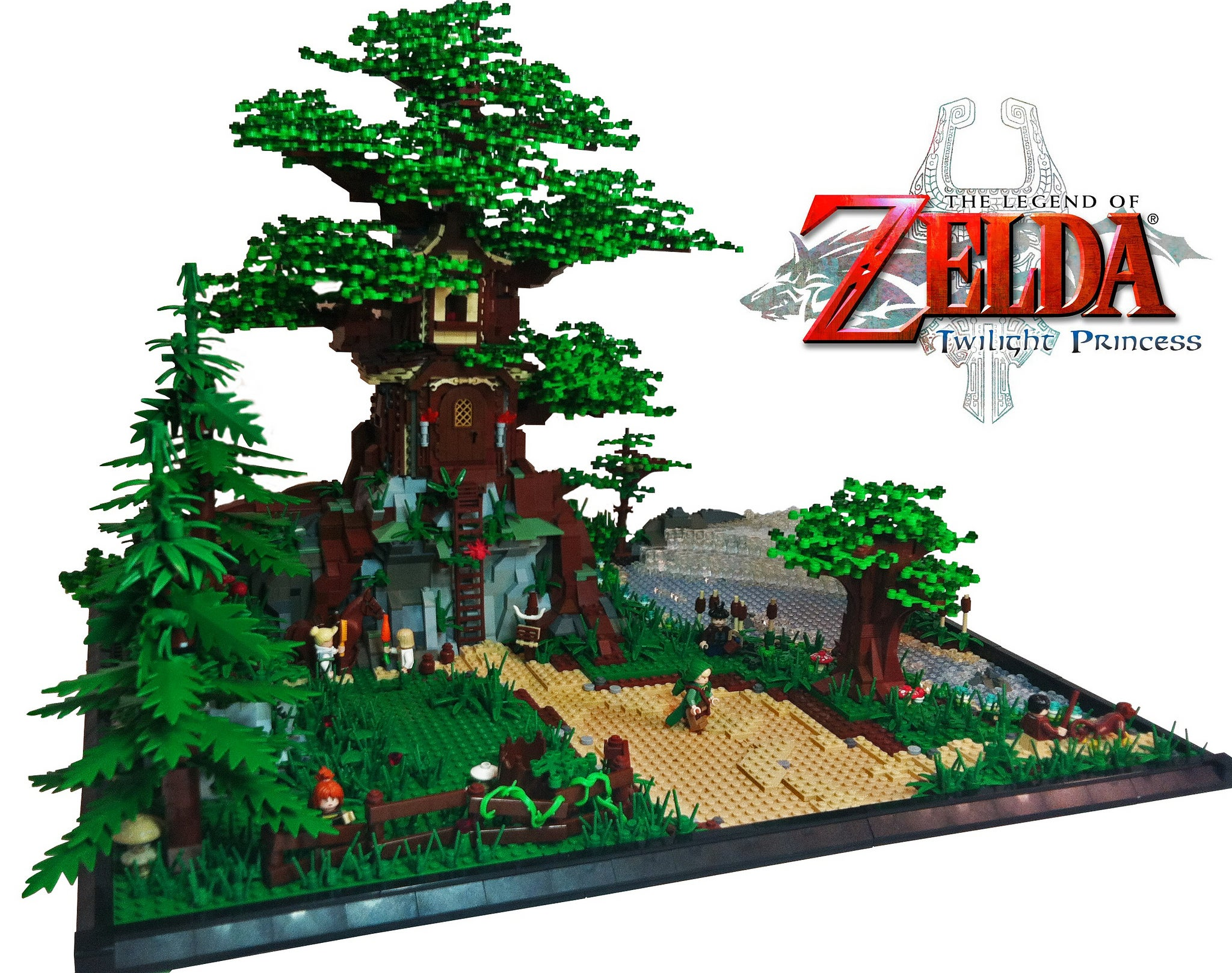 Big-Arse Zelda Castle Is The LEGO We Deserve, But Will Never Get