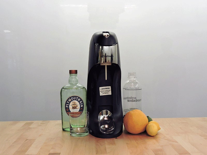 Make Delicious, Sparkling Cocktails with a Sodastream