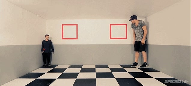 These super fun illusions really messes with your perspective