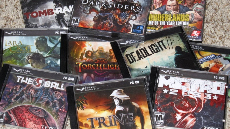 Physical Boxes For Your Digital Steam Games
