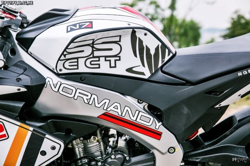 Mass Effect Makes for a Cool Custom Motorcycle