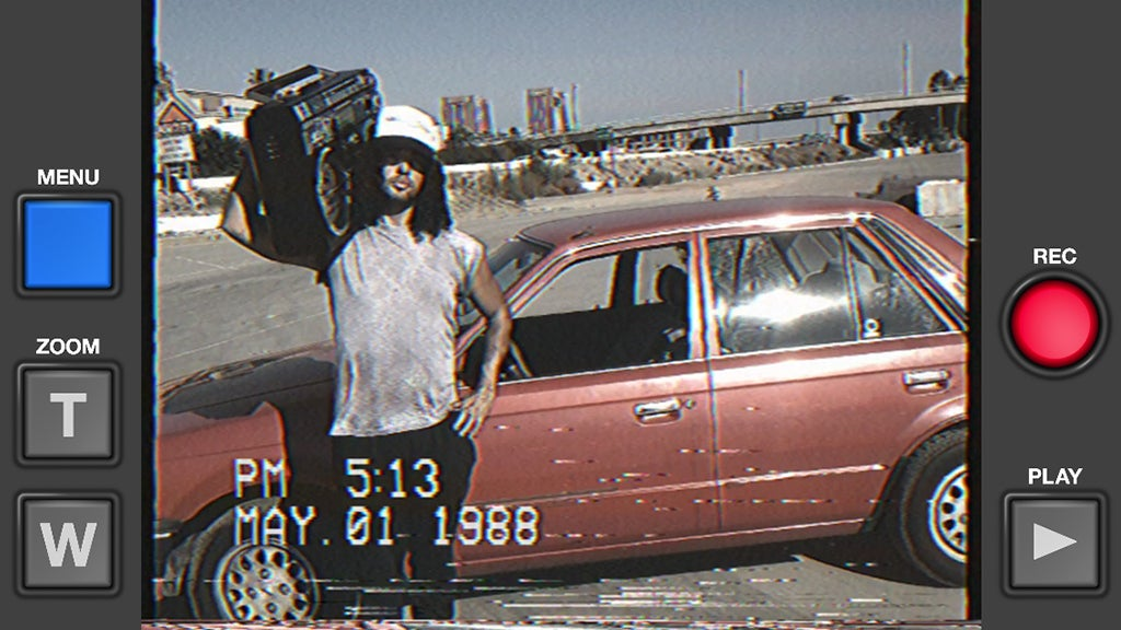 Turn Your iPhone Into a Crappy 1985 Camcorder With This App