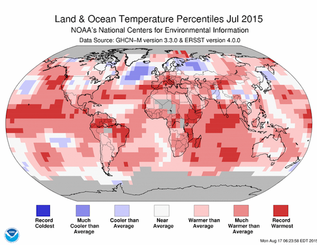 Yep, July Was The Hottest Month in Recorded History