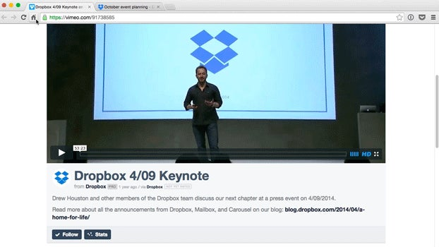 Dropbox Now Lets You Save and Share URLs