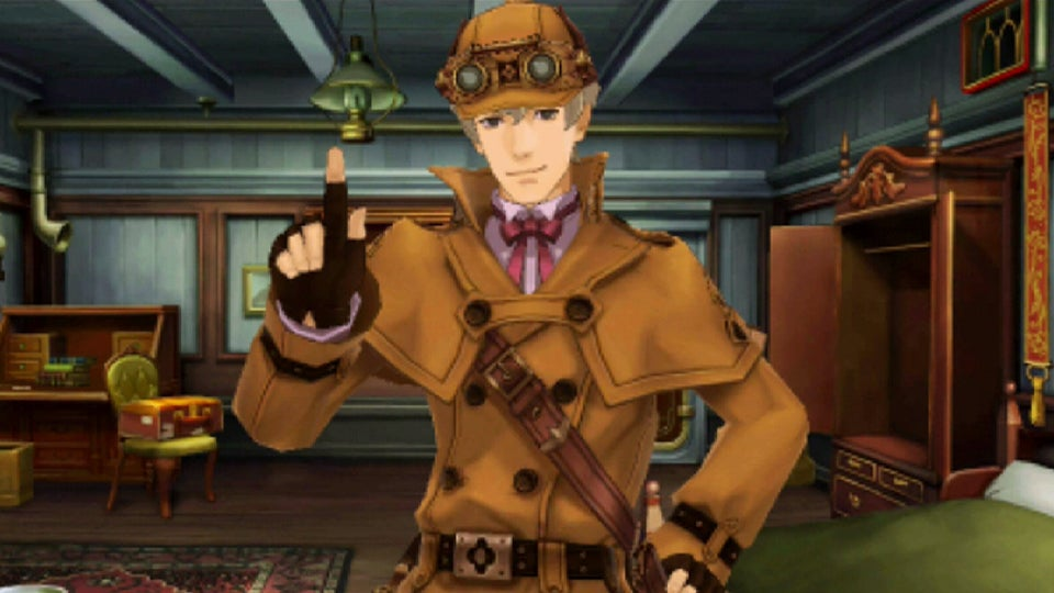 In Ace Attorney, Sherlock Holmes is a Crappy Detective