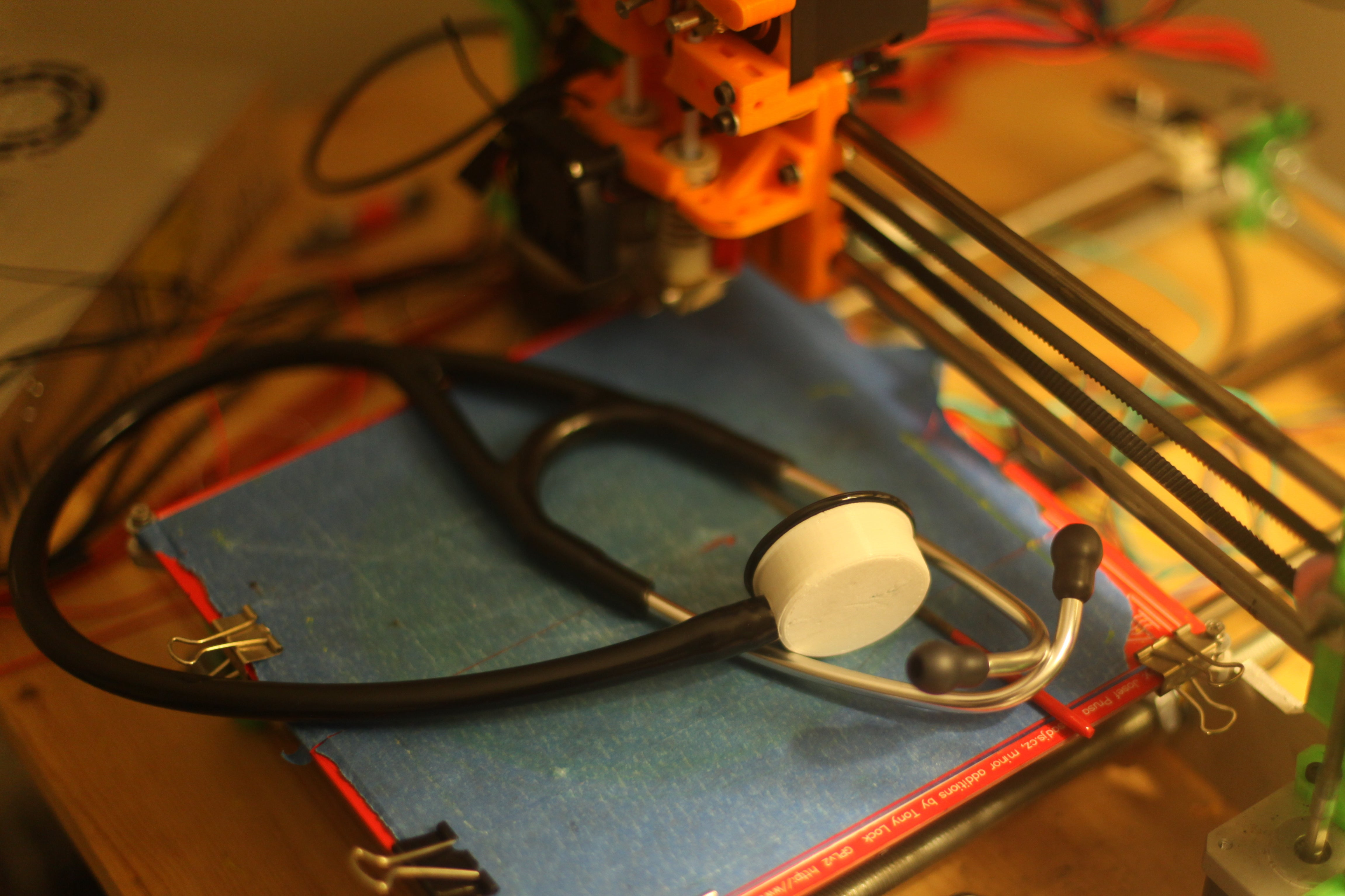 Doctors Print a Medical-Grade Stethoscope for Less than Five Bucks