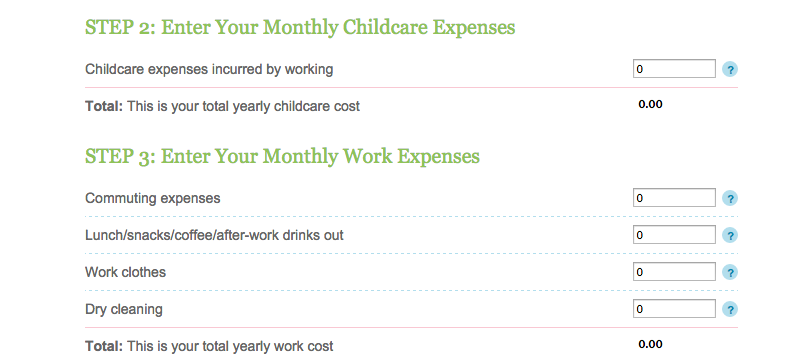 Calculate What It Will Cost To Be a Stay at Home Parent