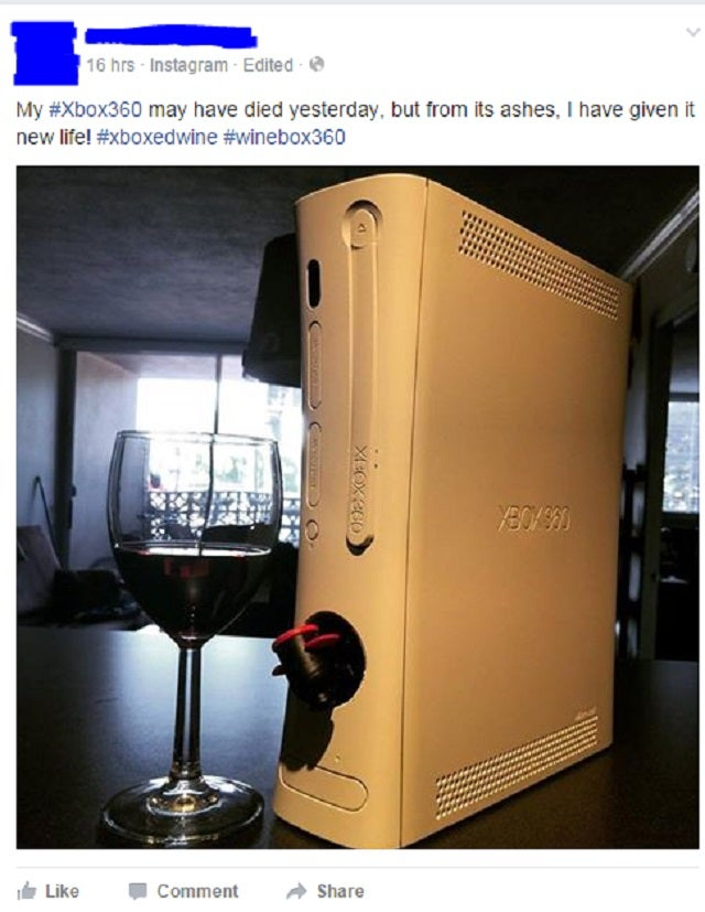 Next-Gen Booze: An Xbox of Wine