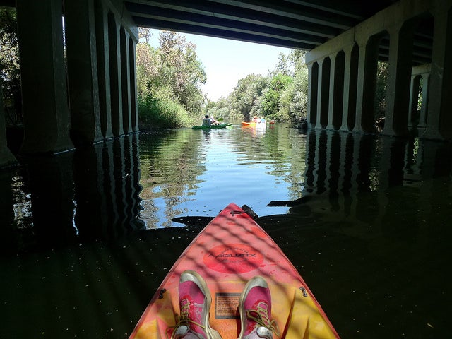 I Kayaked the Part of the Los Angeles River That Actually Looks Like a River