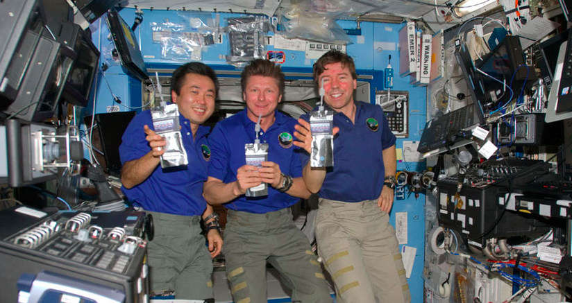 The ISS Crew Collects Russian Pee for Its Water Supply
