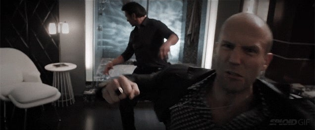Incredible video shows every Jason Statham punch ever from all his movies