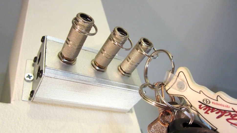 This DIY Audio Jack Key Holder Lets You Plug In Your Keys for Safe Keeping
