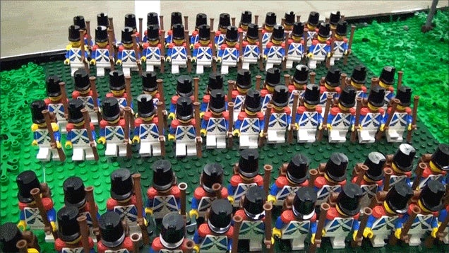 Fans Build LEGO Battle of Waterloo With 2,134 Minifigs