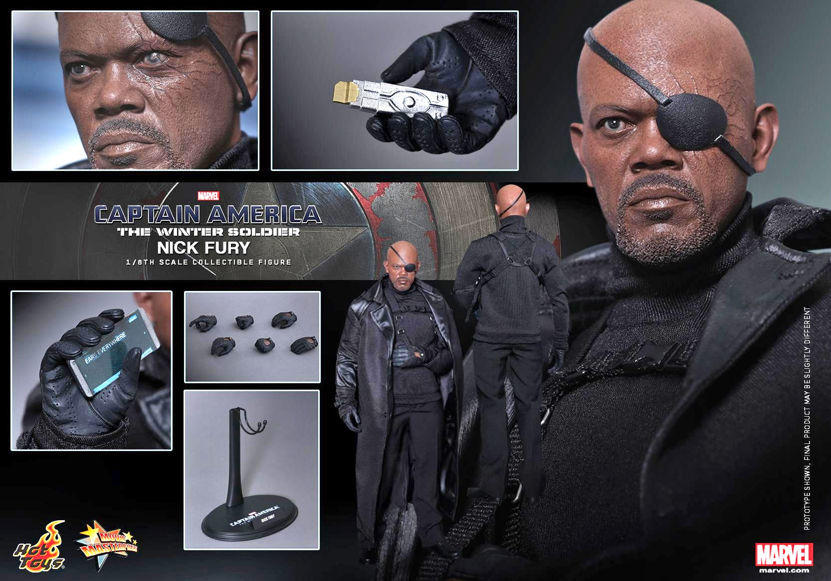Hot Toys' Sixth-Scale Nick Fury Is One Bad Mother Figure