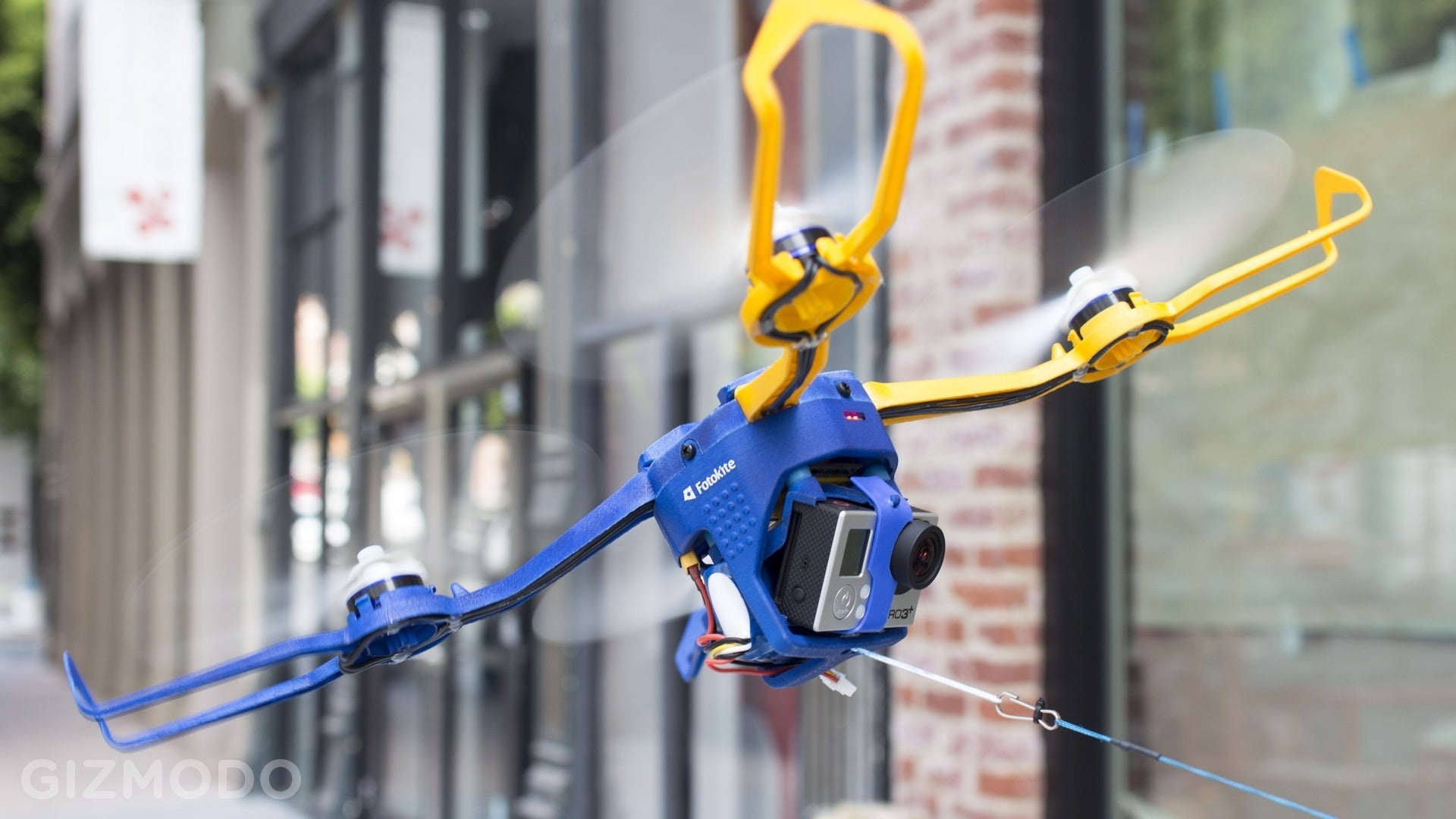 This Drone Goes From Canister To Aerial Selfie In 20 Seconds Flat