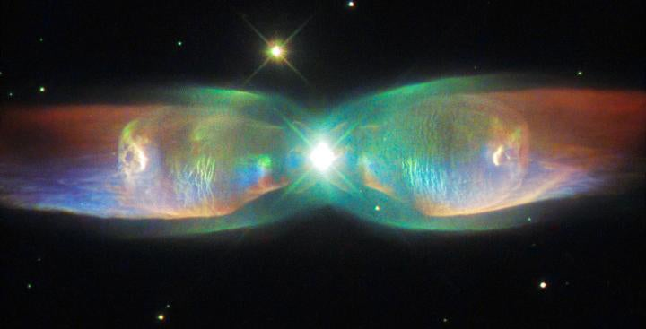 Twin Jet Nebula is a Marvellous Cosmic Butterfly