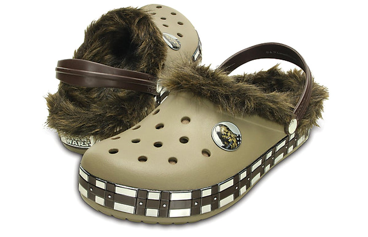One Day You'll Tell Your Grandkids of a Time When Chewbacca Crocs Didn't Exist
