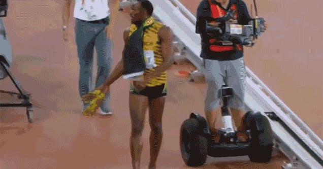 The World's Fastest Man Can't Outrun the Future