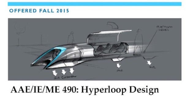 Purdue Engineering Students Can Take A Class In Hyperloop Design
