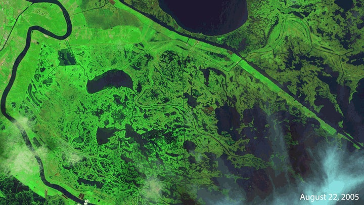 New Orleans' Marshes are Still Recovering From Katrina