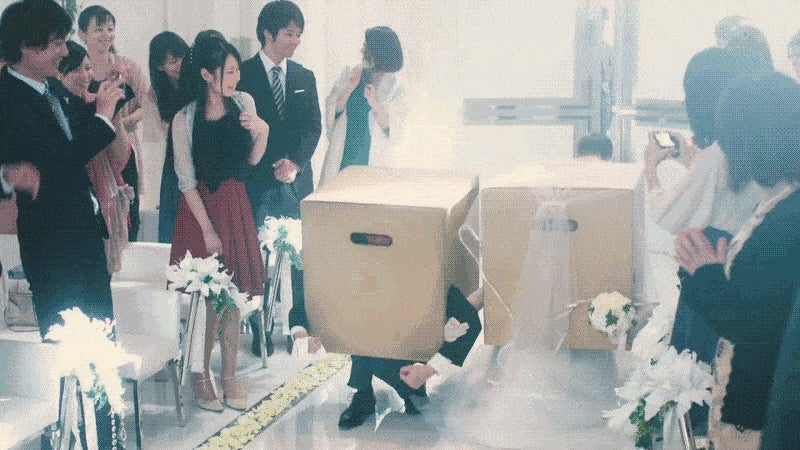 Metal Gear Solid Weddings Are Both Romantic and Sneaky