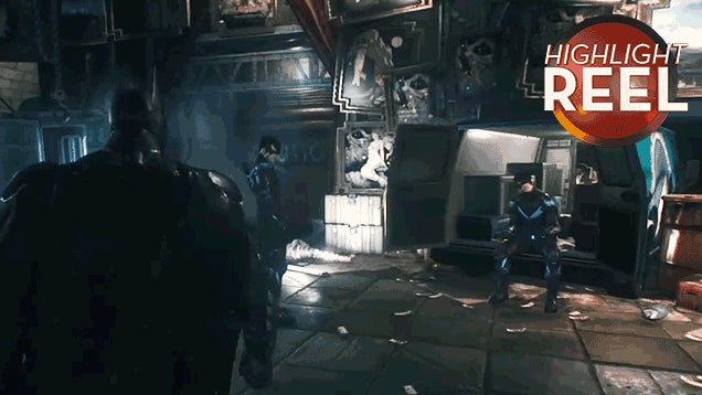 Arkham Knight Glitch Clones Nightwing, Makes Batman See Double