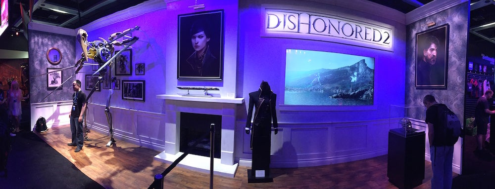Dishonored 2's PAX Booth Is Pretty Cool