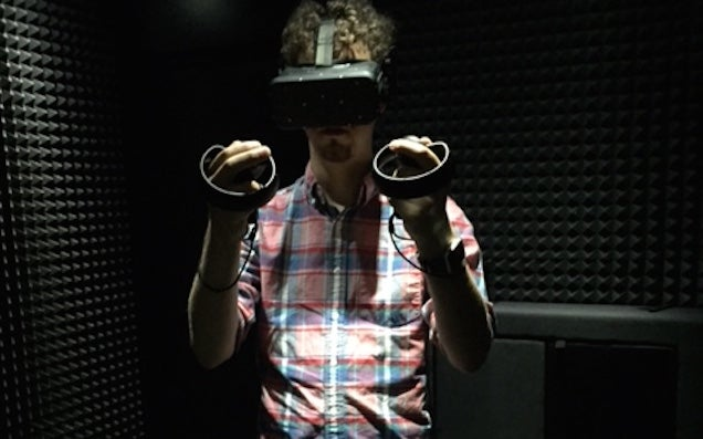 Wearing VR Gear Makes You Look Super Cool