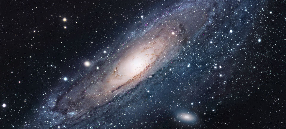 A Really Small Telescope Captured This Gorgeous Galaxy Image