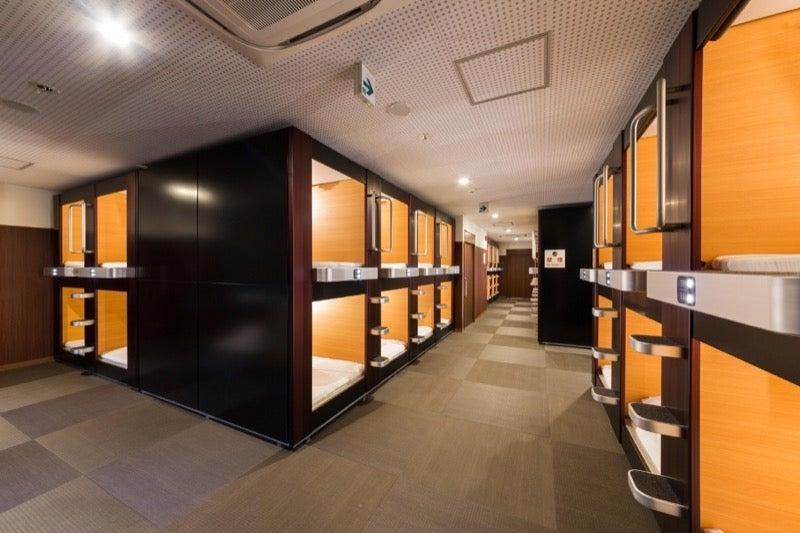 Japan's Coolest Looking Capsule Hotels