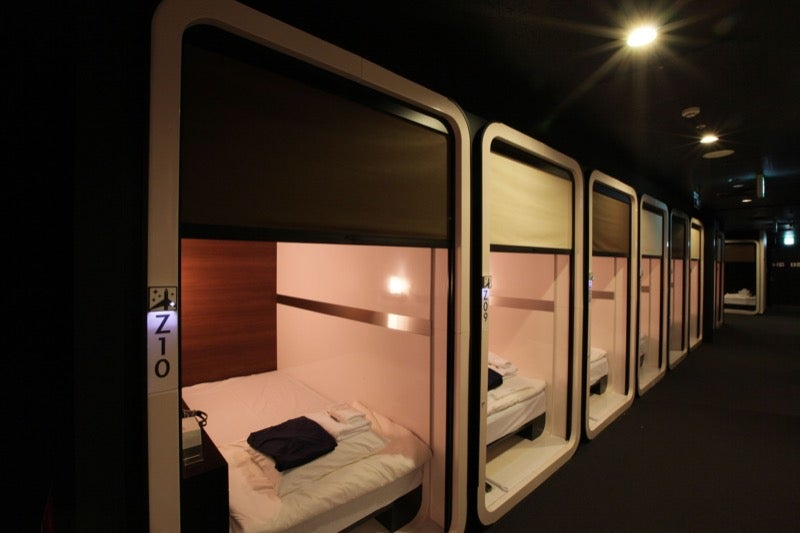 Japan 39 s coolest looking capsule hotels kotaku australia for First cabin haneda