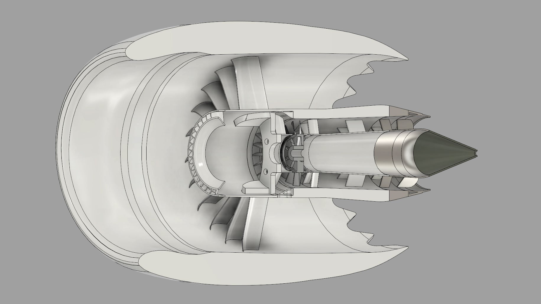This 3D-Printed Working Model of a 787's Jet Engine Has Impressive Thrust