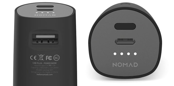 The First USB-C Car Charger Also Throws In a Backup Battery