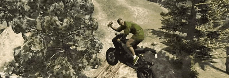 GTA V Player Dodges The Law With Sick Sticky Bomb Stunts