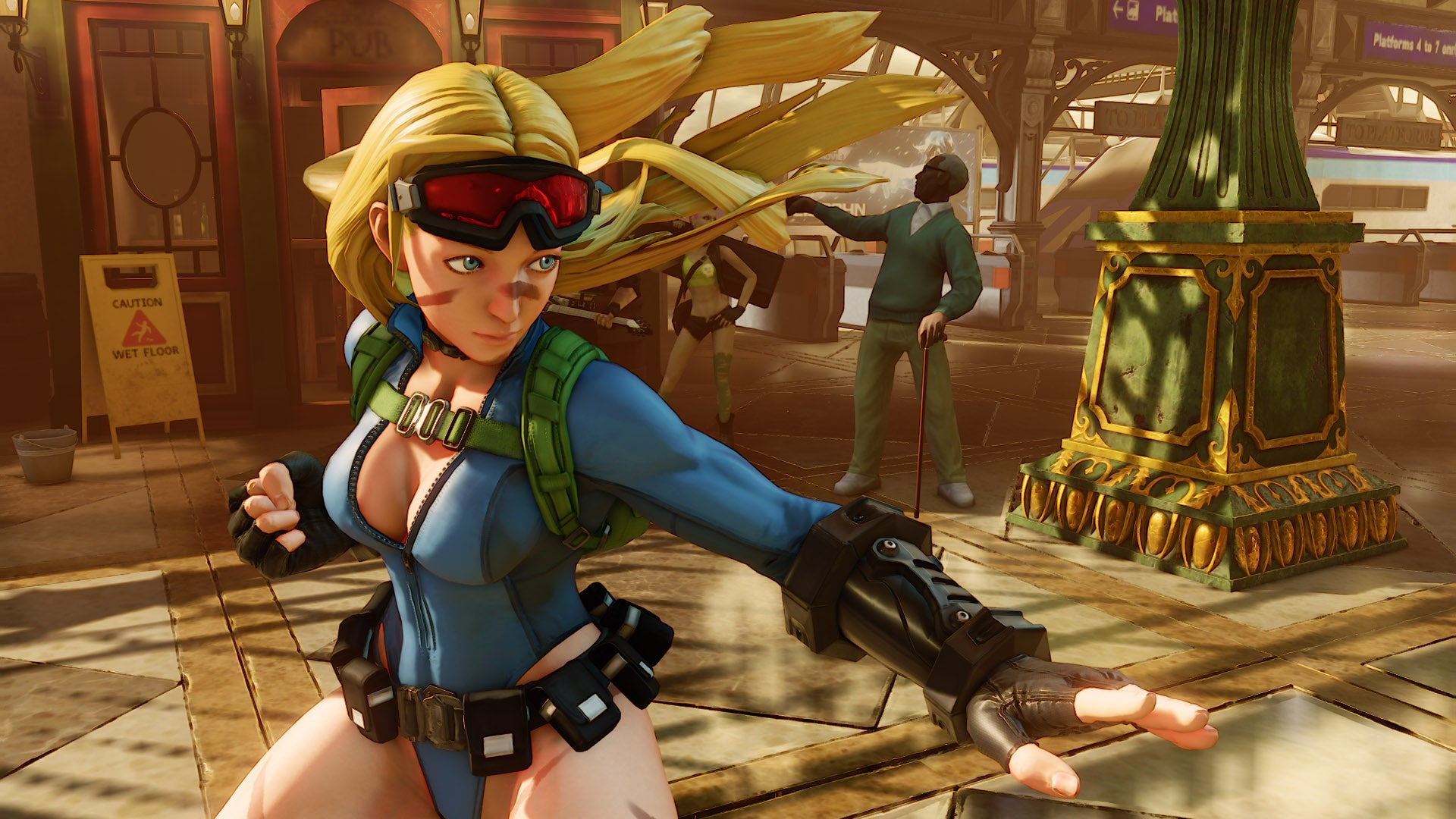 After Complaints, Street Fighter's Cammy Looks Kinda Different