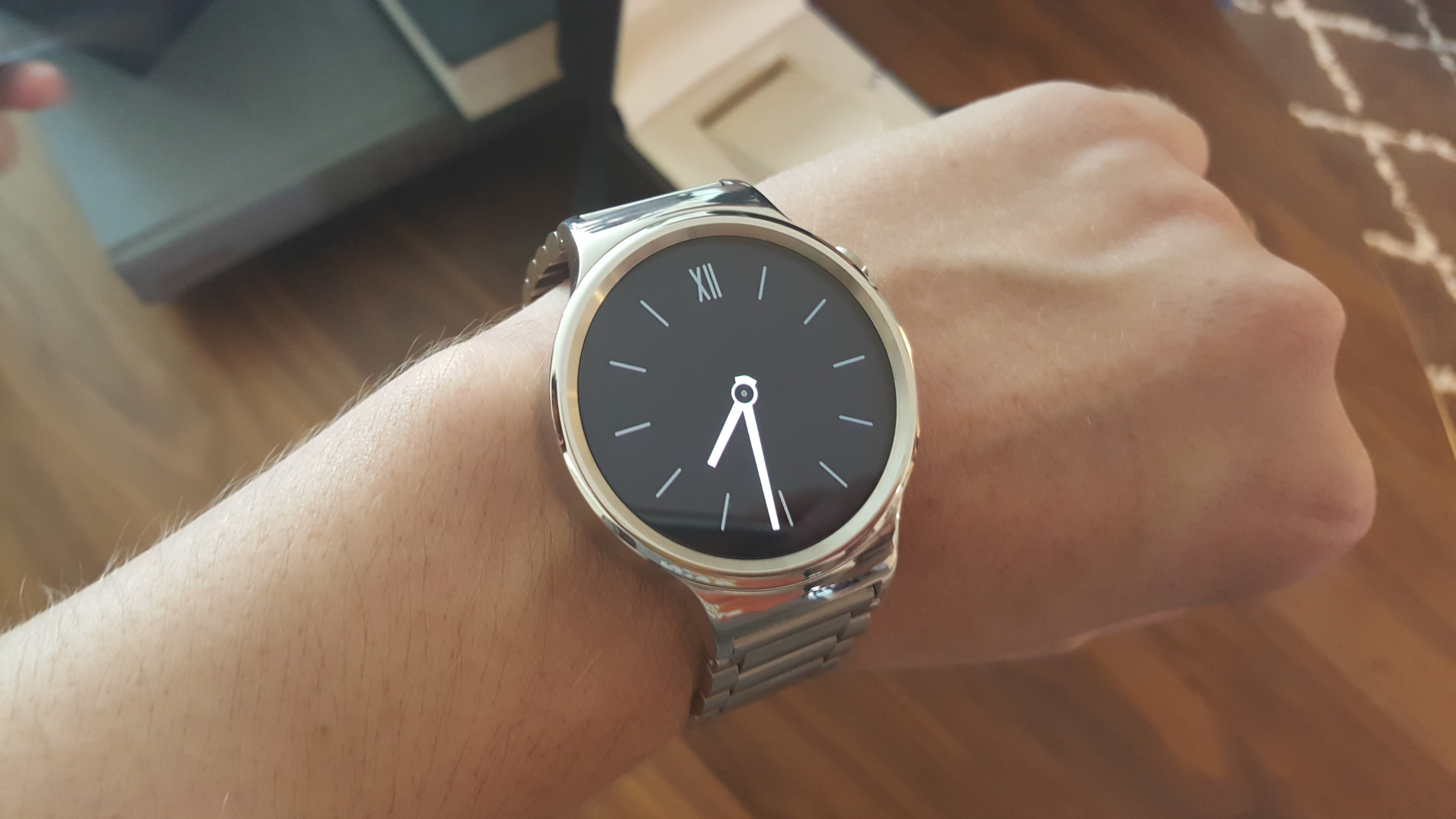 Huawei Watch Hands On Gorgeous Luxury Class Thats A Bit Too Bulky Smart Black Stainless Steel The Is But