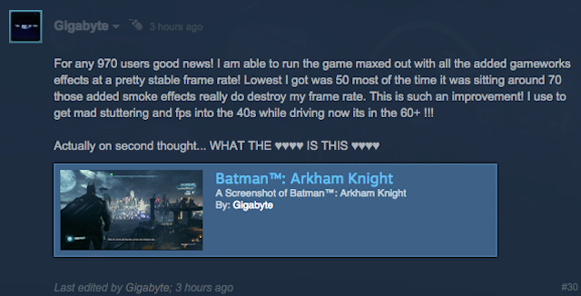 Arkham Knight PC Patch Briefly Appears, And Early Reports Are Promising