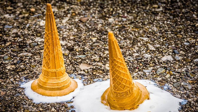 Heroic Scientists Invent Ice Cream That Won't Melt As Fast