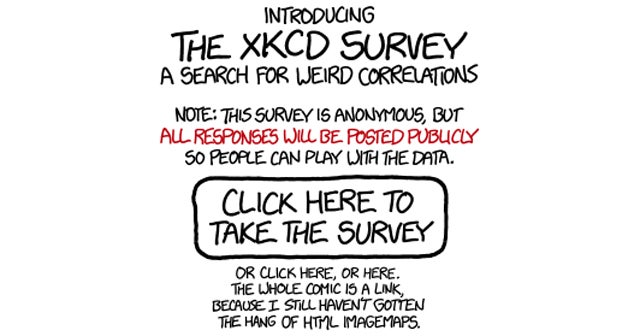 Go Complete XKCD's Random Quiz In The Name Of Arbitrary Science