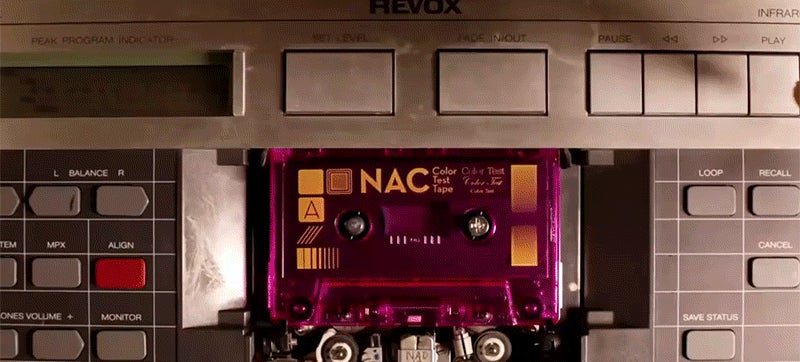 Inside the last factory that still makes audio cassette tapes