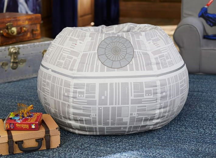 A Death Star Bean Bag Chair Is the Ultimate Comfort In Your Living Room