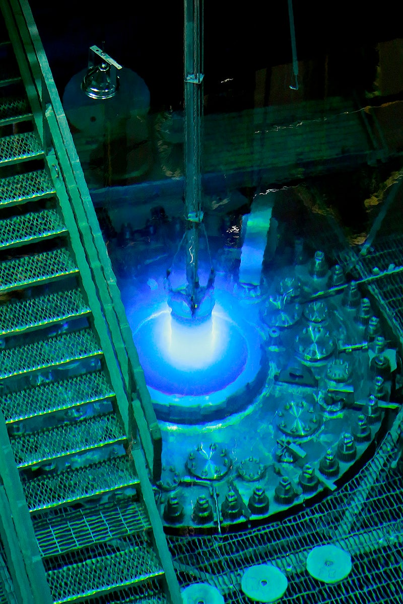 Isotope Reactor Basically Looks Like a Sci-Fi Weapon in These Photos