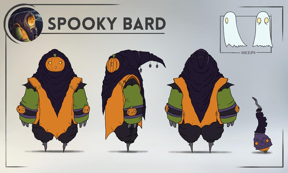 Fan Version Of League Of Legends' Bard Is Really Spoooooooky