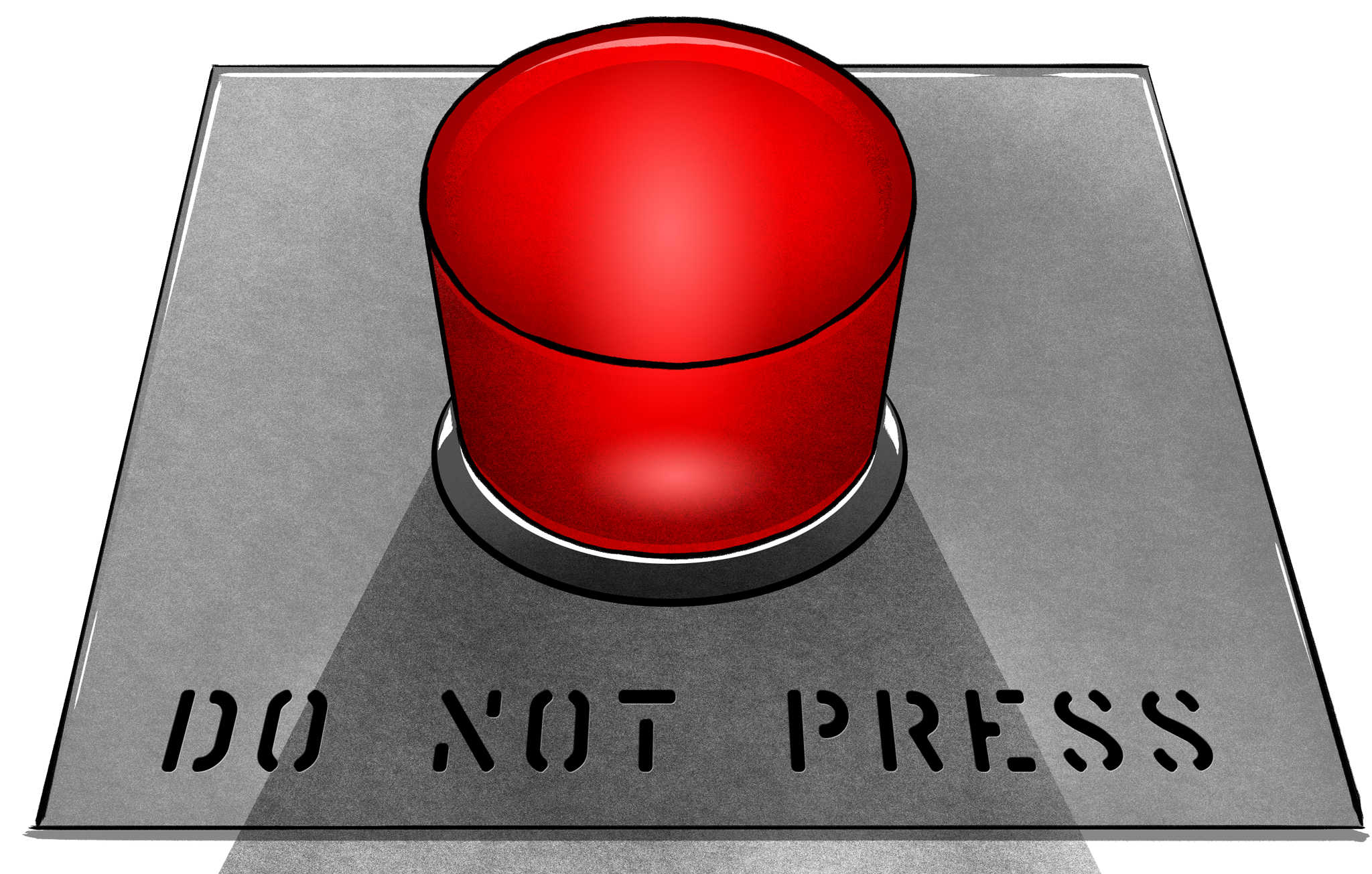 Do Not Press the Red Button Game - MostFunGames.com