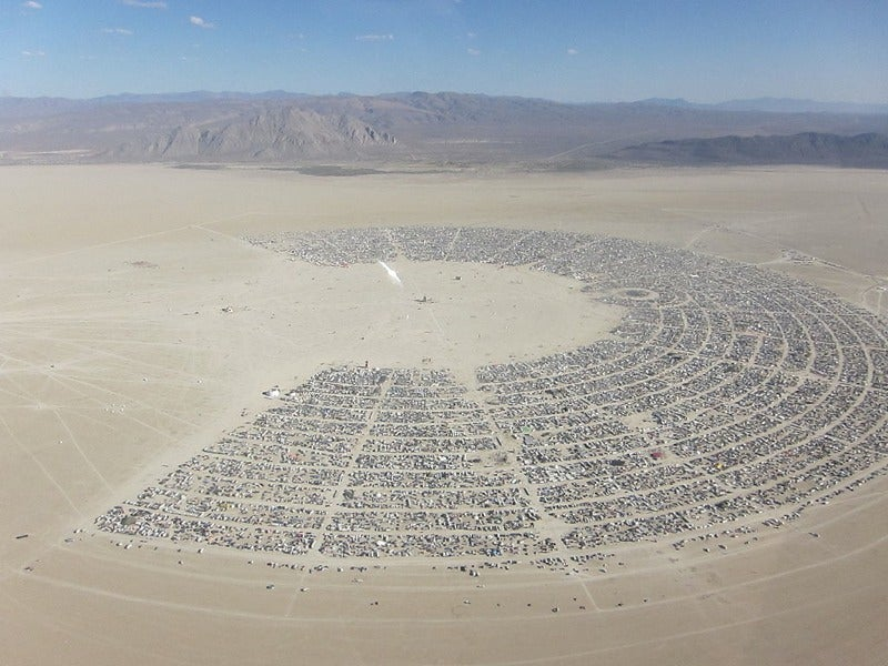 It Only Takes 70,000 Dancers at Burning Man to Make an Earthquake